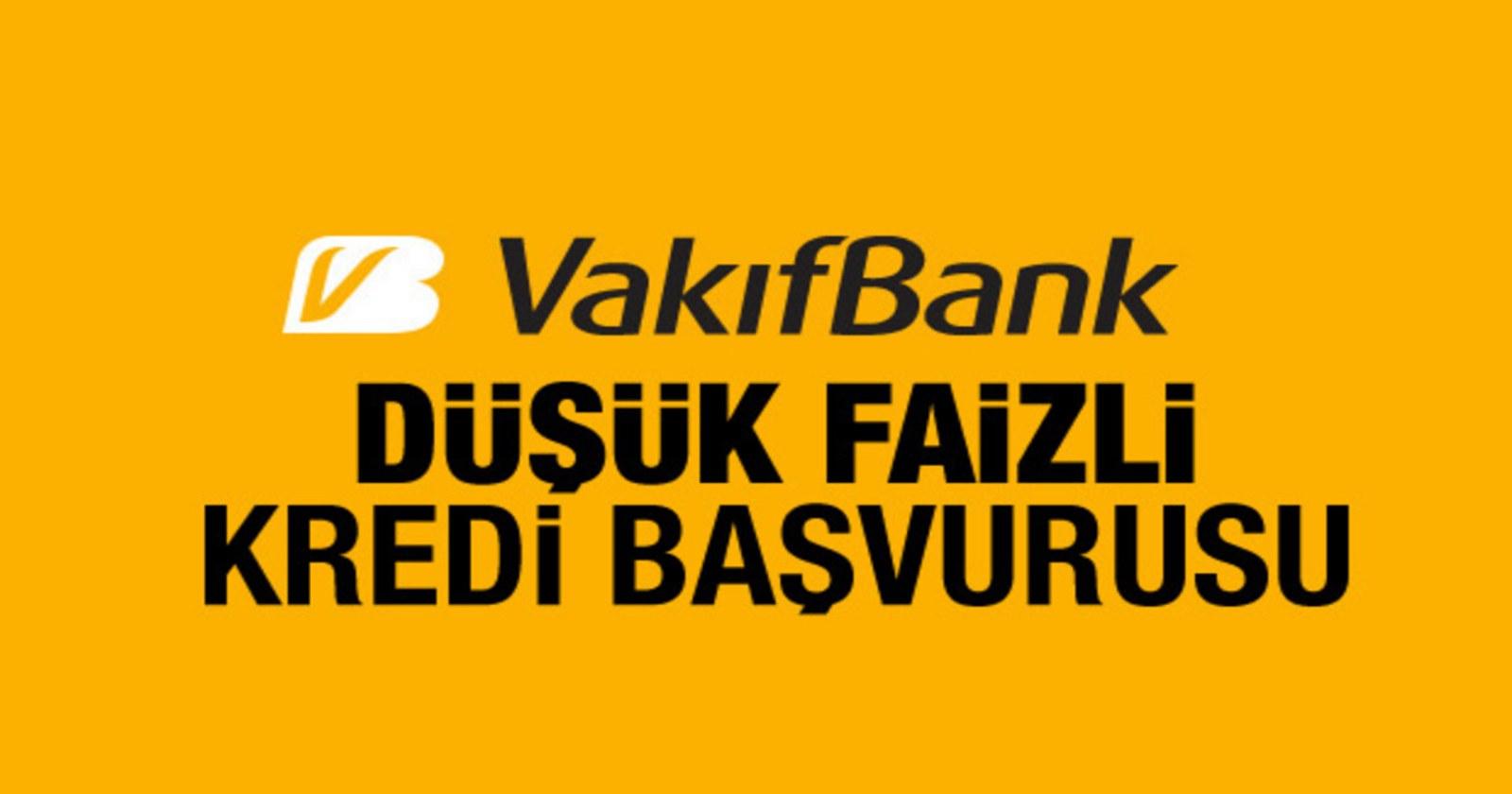 vakıfbank ziraat bankası düşük faizli kredi
