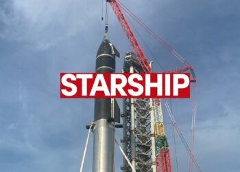 En büyük uzay aracı Starchip'in montajı tamamlandı