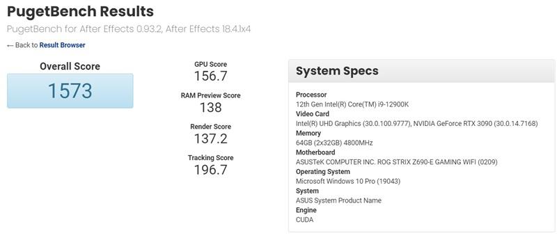 Intel Core i9-12900K Alder Lake Benchmark