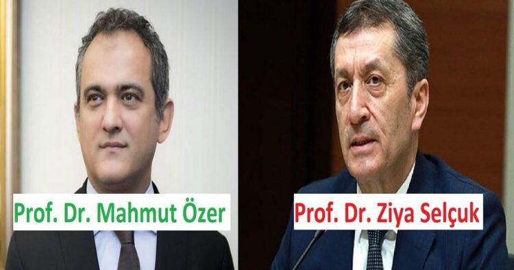 MEB olarak Ziya Selçuk'un yerine Mahmut Özer atandı