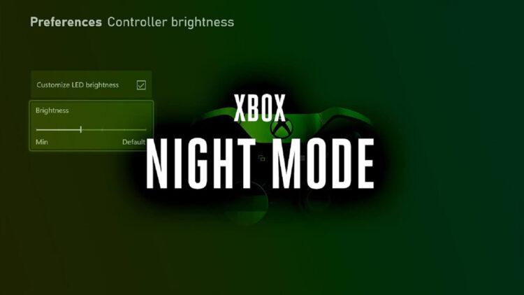 Xbox gece modu özelliği geliyor. Mavi ışığa son!