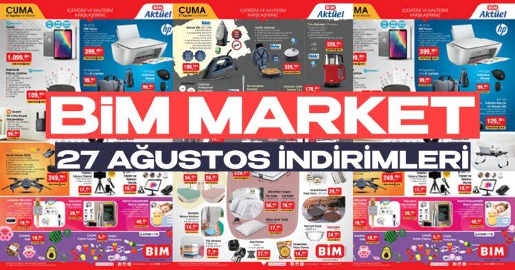 bim market 27 ağustos indirimli aktüel ürünler kataloğu