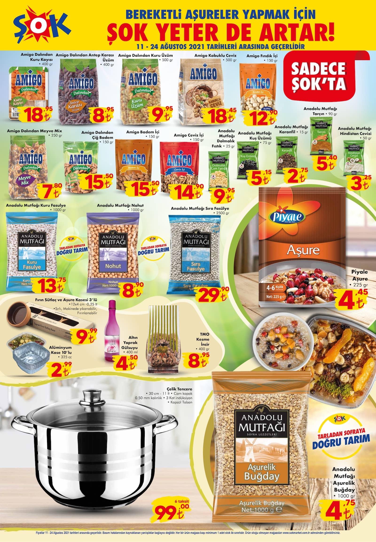 şok market 24 ağustos indirimli ürünler