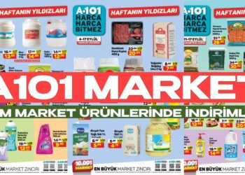 A101 Market 17 Eylül Büyük Maliyet Satış Kampanyası Tüm İhtiyaç Ürünlerinde Başladı