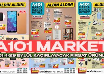 A101 Market 4- 29 Eylül Aktüel Ürünlerinde Yüzde 30'a Varan İndirime Gitti!