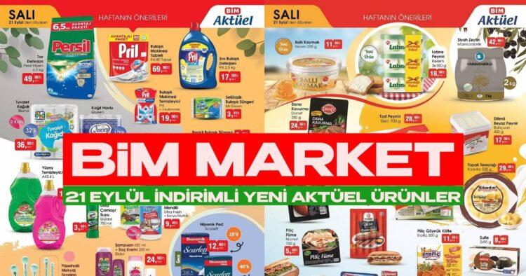 BİM Market 21 Eylül İndirimiyle Son Noktayı Koydu! BİM'de Görülmemiş İndirim Başlıyor