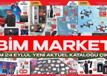 BİM Market 24 Eylül Yeni Aktüel Kataloğunda İndirim Rüzgarı Esecek!
