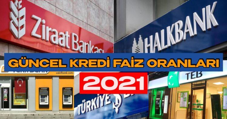 İhtiyaç, Taşıt, Konut Kredilerinde 2021 Güncel En Düşük Faiz Oranı Hangi Bankada