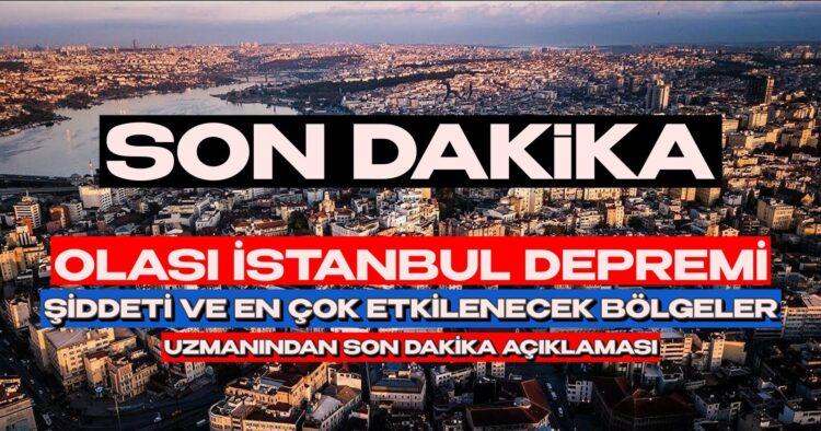 İstanbul Depremi İçin Şok İddia! En Riskli Bölgeler Neresi ve Hangi Şiddette Deprem Bekleniyor