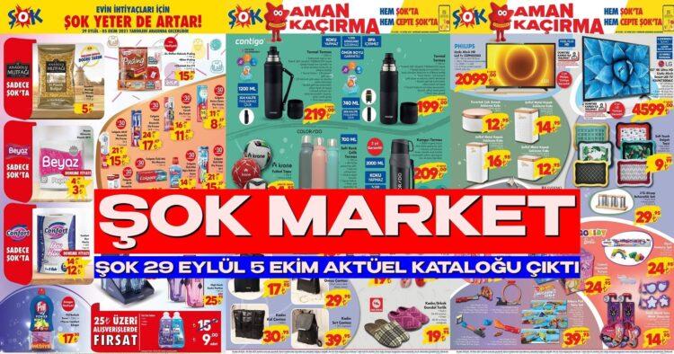 ŞOK Market 29 Eylül 5 Ekim Aktüel Kataloğu Yayınlandı. ŞOK Görülmemiş İndirime Gitti