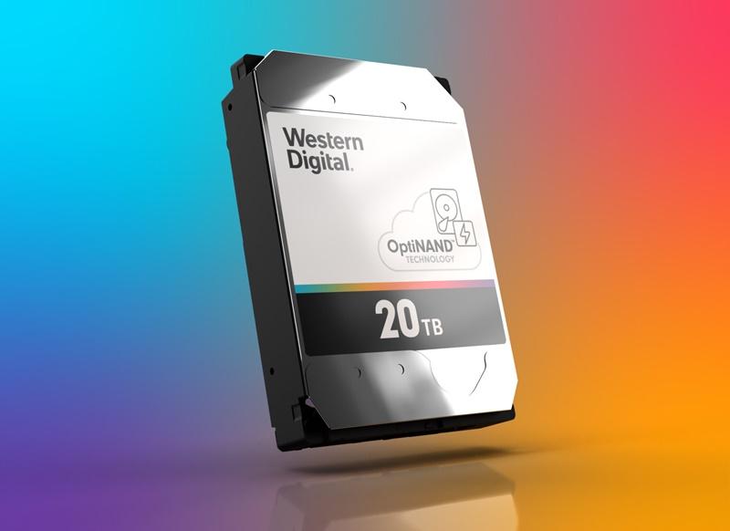 Western Digital 20TB Hard Disk