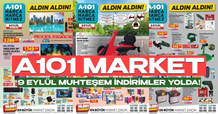 a101 9 eylül büyük market indirimleri aktüel ürünler kataloğu