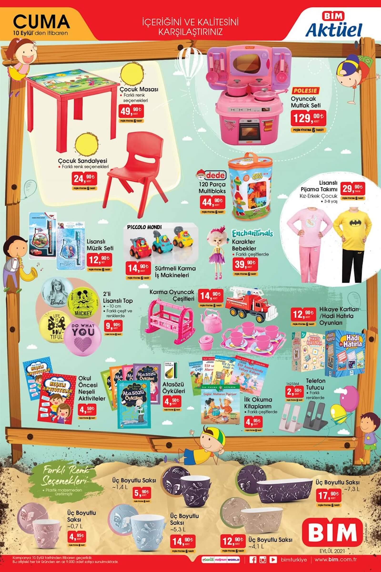 bim market 10 eylül indirimli ürünler listesi