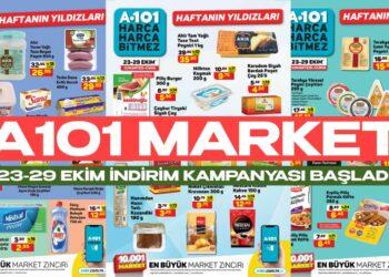 A101 Market 23 - 29 Ekim Dev Gıda İndirimleri Başladı! A101 Fiyatları Hiç Bu Kadar Düşmemişti!