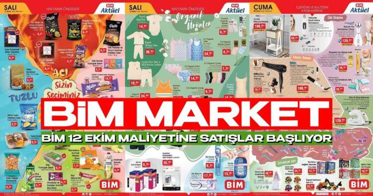 BİM Market 12 Ekim Aktüel Ürünlerde Görülmemiş İndirim! BİM'den Maliyetine Satışlar Başlıyor