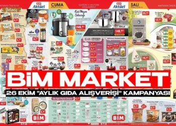 BİM Market 26 Ekim Aktüel Kataloğu! Aylık Alışveriş Yapacaklar, Bu Fiyatlar Kaçmaz!
