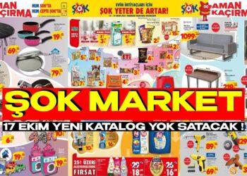 ŞOK Market 17 Ekim Yeni Aktüel Kataloğu Yok Satar! ŞOK'u Durdurabilene Aşk Olsun!